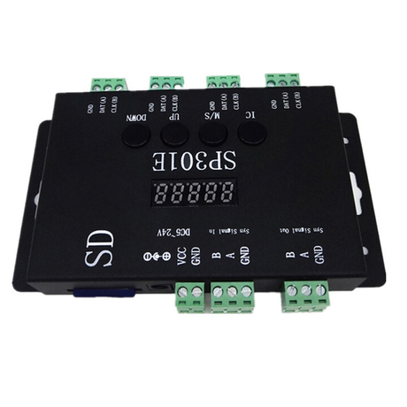 SP301E SD Card SPI Programmable Pixel LED Controller for RGB