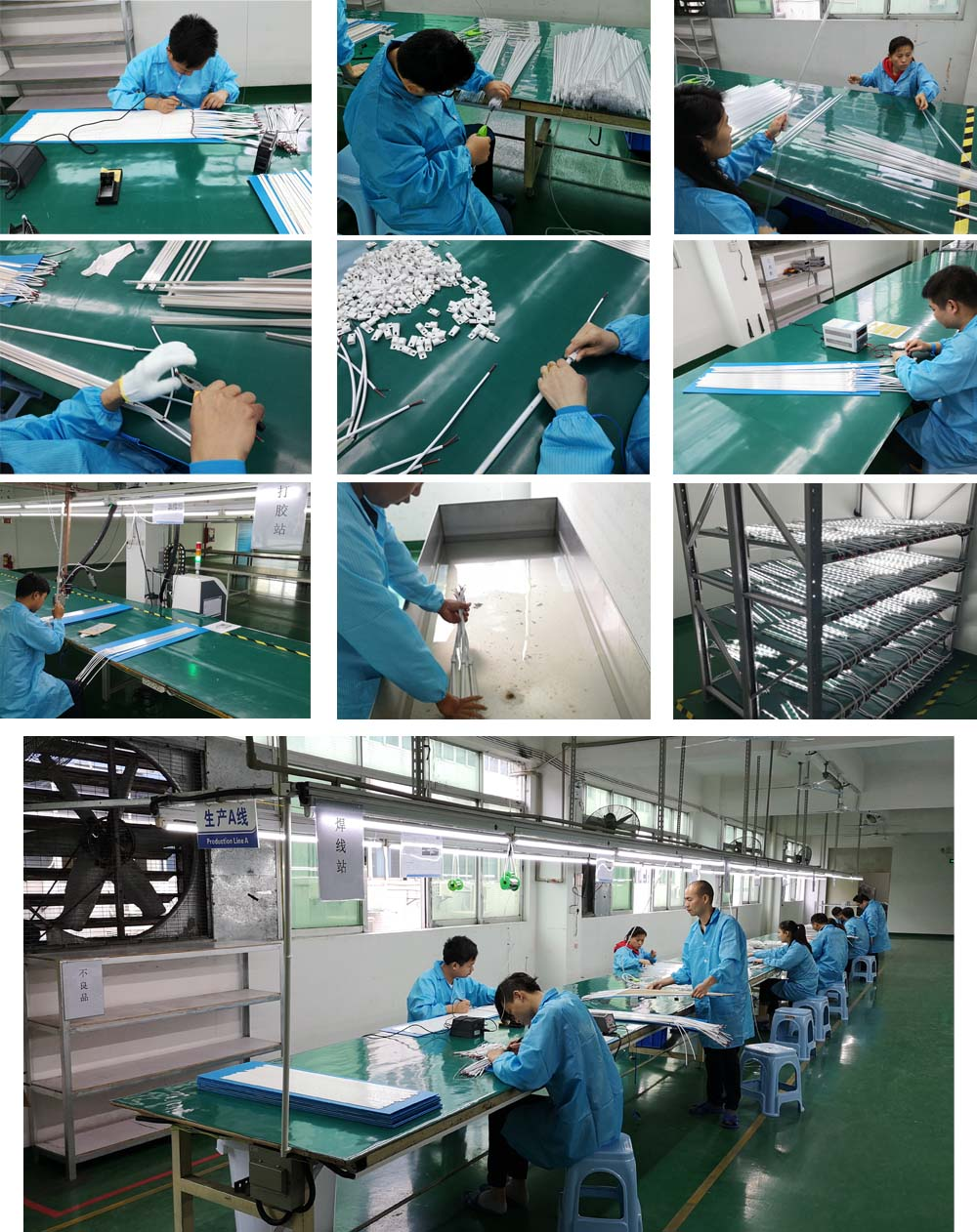 led strip production