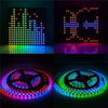 SP107E Bluetooth Music Controller for Addressable LED Strip WS2811 WS2812B WS1813 SK6812 UCS1903
