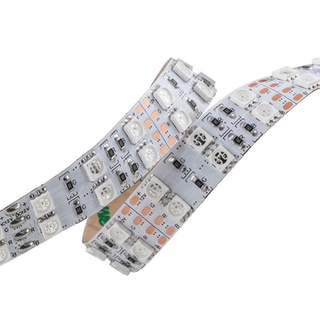 Double Row 120LEDs/m SMD 5050 24V RGB IP20 IP66 Waterproof LED Strip Lights
