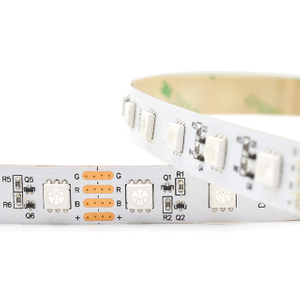 15m/Roll Constant Current 24V 60LEDs/m SMD5050 RGB Flexible LED Strip Lights